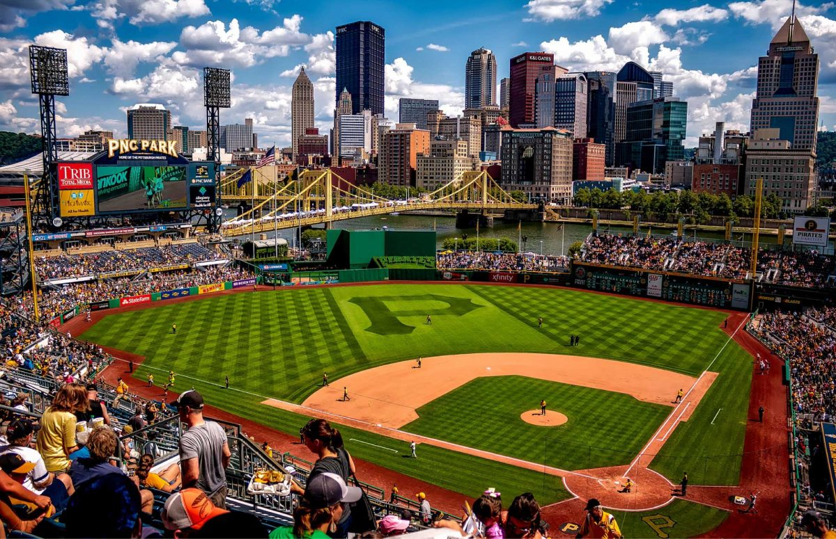 pnc park from stands